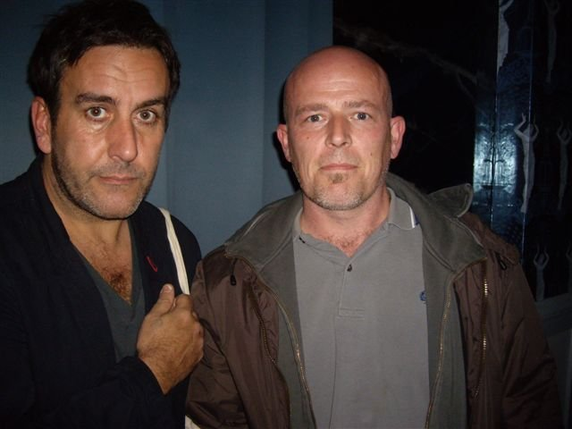 Herb meets Terry Hall in Leamington Spa
